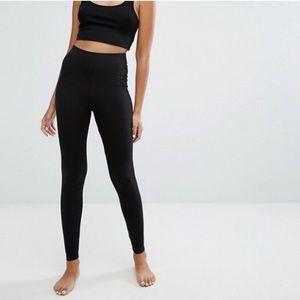 90 Degree by Reflex Black gym tights XS